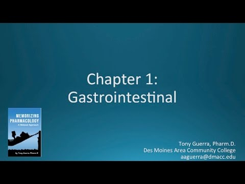 (CC) Top 200 Drugs Chapter 1 Gastrointestinal Nursing Pharmacology by Suffix Memorizing Pharmacology