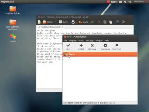 How to Install Internet Download Manager (IDM) on Ubuntu (Working) (видео)