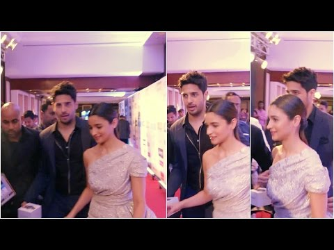 Sidharth Malhotra & Alia Bhatt Spotted Together At HT Most Stylish Awards