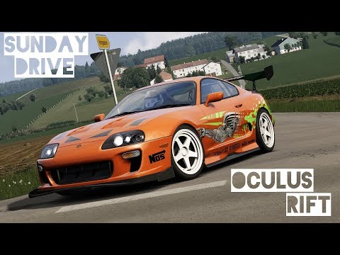 Picking up Paul Walker's Supra - SUNDAY DRIVE | Assetto Corsa VR Gameplay [Oculus Rift]