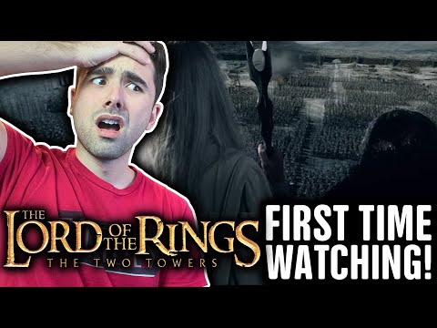 WATCHING THE LORD OF THE RINGS: THE TWO TOWERS FOR THE FIRST TIME!! (2002) MOVIE REACTION PART 2