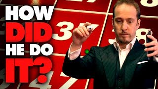 "As part of the archive Derren Brown Special ""How to Take Down a Casino"", Derren demonstrated an understanding of speed and trajectory to astonishing effect. Truly remarkable.For more subscribe to our channel - http://www.youtube.com/user/OfficialDerren"