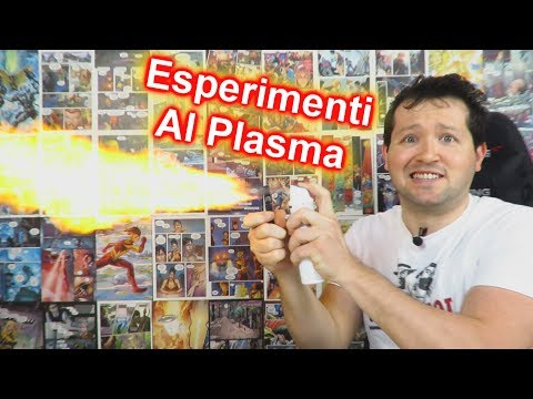 Ho creato un lanciafiamme con un accendino al PLASMA