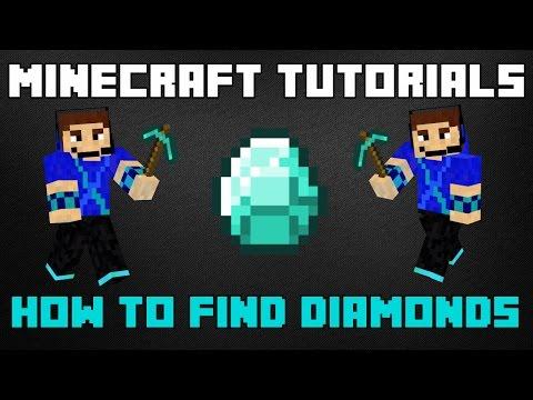 Minecraft Tutorials – How to Find Diamonds in Under 10 Minutes!!! (Branch Mining)