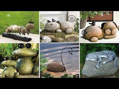 Como hacer un jardin con piedras - Como decorar mi jardin con piedras y plantas ...
