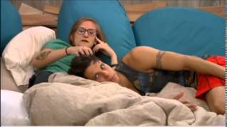 Zankie adorableness in the HOH room 5:00am 7/16