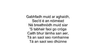 Feb 24, 2014 ... Mix - Can't Hold Us as Gaeilge Lyrics - TG LurganYouTube.