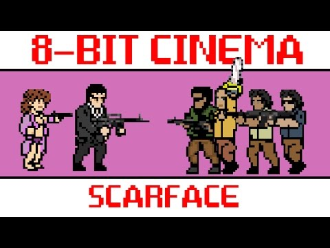 Scarface  Retold as an 8Bit Animated Video