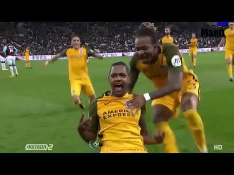 West Ham vs Brighton (0-3) - All Goals & Highlights 20/10/2017 HD