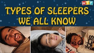 Video Types Of Sleepers We All Know | WTF | What The Fukrey MP3, 3GP, MP4, WEBM, AVI, FLV Juli 2018