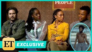 Video 'Dear White People' Cast Reacts to Childish Gambino's 'This Is America' Music Video (Exclusive) MP3, 3GP, MP4, WEBM, AVI, FLV Mei 2018