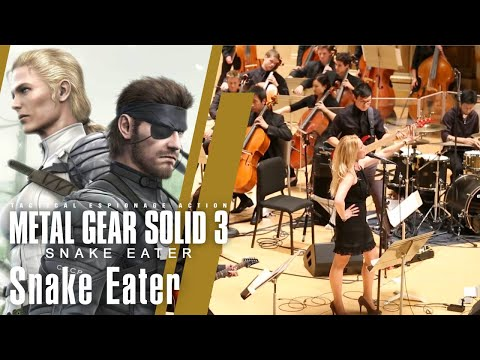 Video of the Video Game Orchestra performing the song Snake Eater
