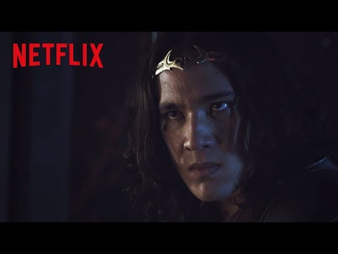 Monkey King Confronts Davari | The New Legends of Monkey | Netflix Futures
