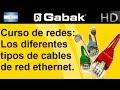 Los diferentes tipos de cables de red ethernet (curso de