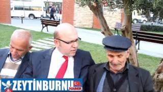 Ak Parti Zeytinburnu Belediye Başkan Aday Adayı Ayhan Karcı Esnafı Ziyaret Etti