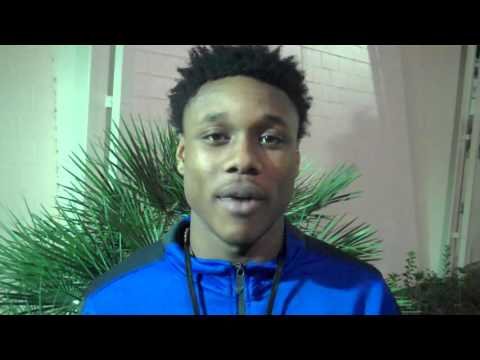 #TCCBasketball vs. Eastern Florida State: Postgame with Jahvaughn Powell