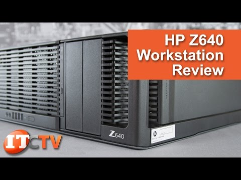 HP Z640 Workstation Review - Now in 4K UHD!