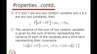 Mod-01 Lec-23 Properties Of Multiple Random Variables