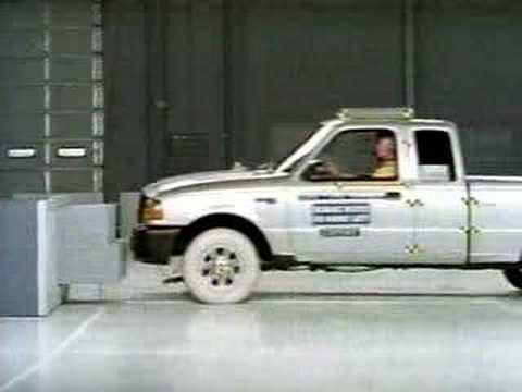 Краш-тест пикапа FORD Ranger