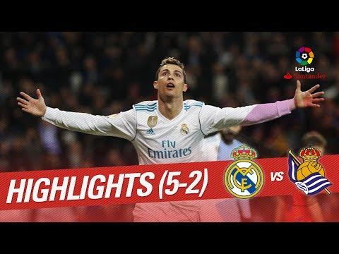 Resumen de Real Madrid vs Real Sociedad (5-2)