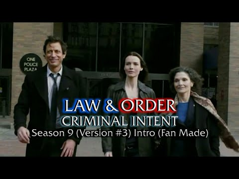 Law & Order: Criminal Intent: Season 9 (Version #3) Intro (Fan Made)