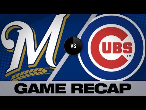 Video: Yelich, pitchers power shutout win   Brewers-Cubs Game Highlights 9/1/19