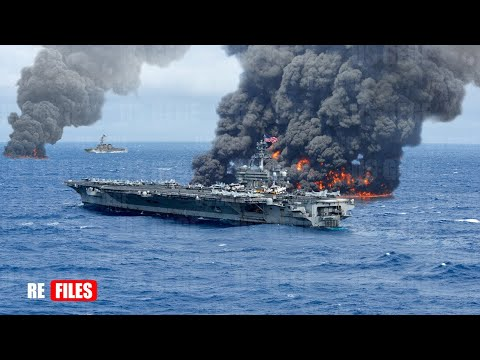 War begins (Jan 18,2021) China & Russian fires 3 Missiles to sink Two US Carriers Sailing in SCS
