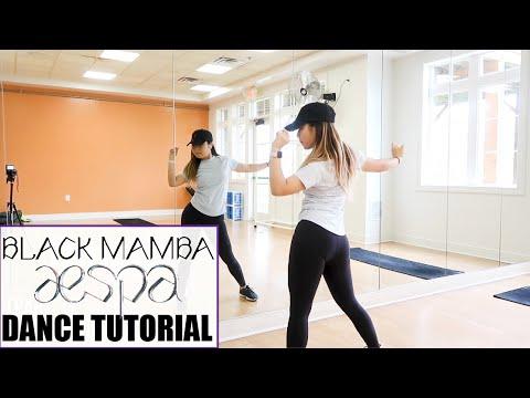 aespa 에스파 'Black Mamba' - Lisa Rhee Dance Tutorial