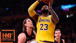 Los Angeles Lakers vs Miami Heat 1st Half Highlights | 12.10.2018, NBA Season