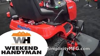 2. Simplicity Regent Riding Lawn Tractor   Weekend Handyman   #SimplicityMower