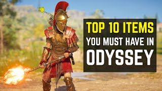 Top 10 Items You Must Have in Assassin's Creed Odyssey