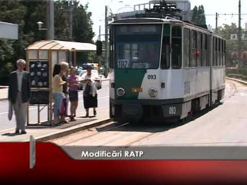 Modificări RATP
