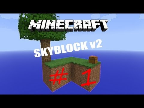 [Minecraft 1.0.0] Sky Block Survival Map