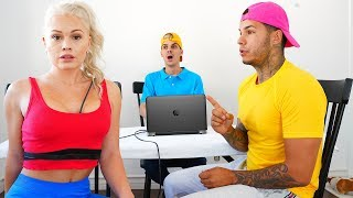 Lie Detector Test On Girlfriend... IS SHE REALLY A GOLD DIGGER????