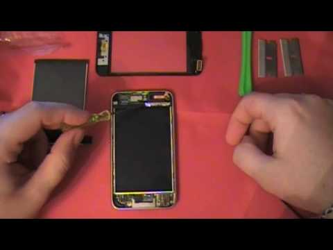 ipod repair guide - iPod Touch 2nd and 3rd Generation LCD repair and installation how to guide. Front Glass removal, Digitizer Removal, LCD removal and replacement. iPod, iPhone...