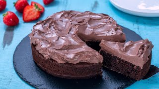 Easy Refined Sugar Free Chocolate Cake