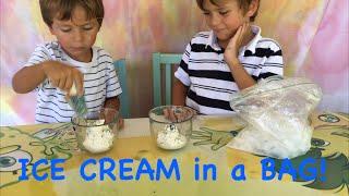 Diy Ice Cream In A Bag Videos By