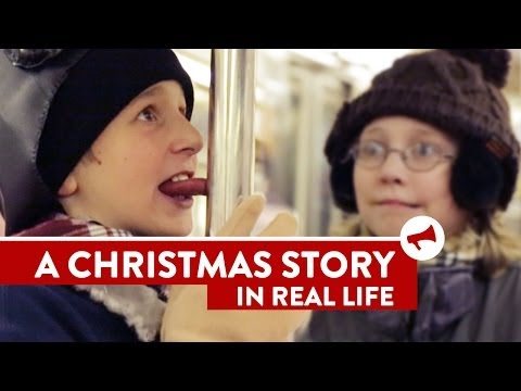 STORY - Full Story: http://dft.ba/-xmas-IRL SUBSCRIBE: http://bit.ly/iesub Join Us: http://improveverywhere.com/email-lists/ Watch the full series: http://www.youtub...