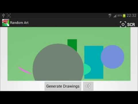 Video of Random Art