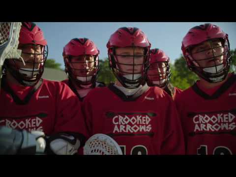 A fierce lacrosse match with an unexpected ending