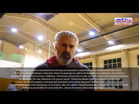 Basketbalový klub Michalovce na tréningu s Ratkom Joksićom