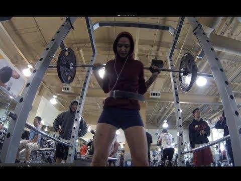 Workout: Squat, Bench Press, Deadlift PRs