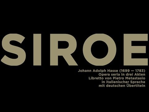 "<a href=""siroe.html"">,SIROE' Oper von Johann Adolph Hasse</a>"