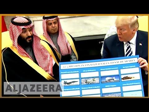 🇸🇦🇺🇸 Saudi crown prince meets Trump at the White House   Al Jazeera English