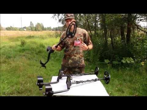 Видео Металлоискатель грунтовый влагозащищенный Fisher F22