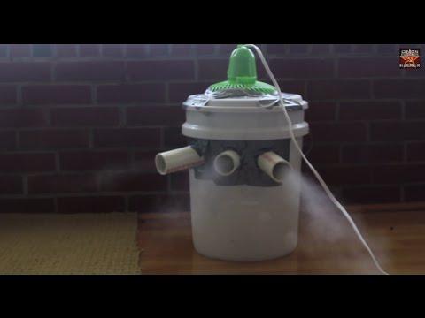 他用簡易零件自製冷氣 成品卻讓人都想要一台!