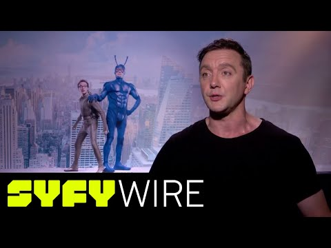 """The Tick's Peter Serafinowicz: """"It's the Best Part I've Ever Played""""   SYFY WIRE"""