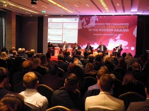 Конференција Изазови социјалдемократије на Западном Балкану (7.11.2015)