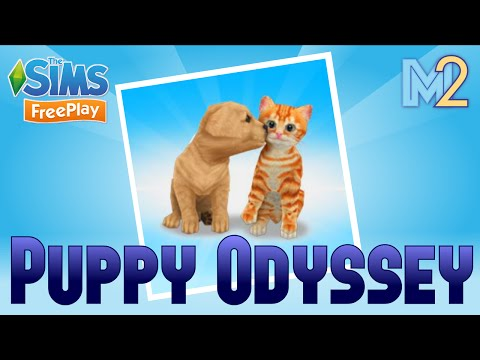 Sims FreePlay - Puppy Quest (Tutorial & Walkthrough)