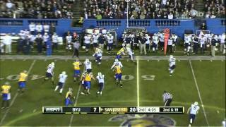 Ryan Otten vs BYU (2012)